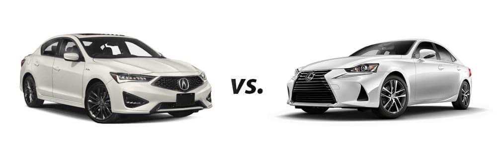 2019 Acura ILX vs. 2019 Lexus IS