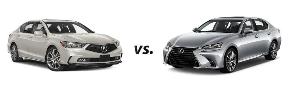 2019 Acura RLX vs. 2019 Lexus GS