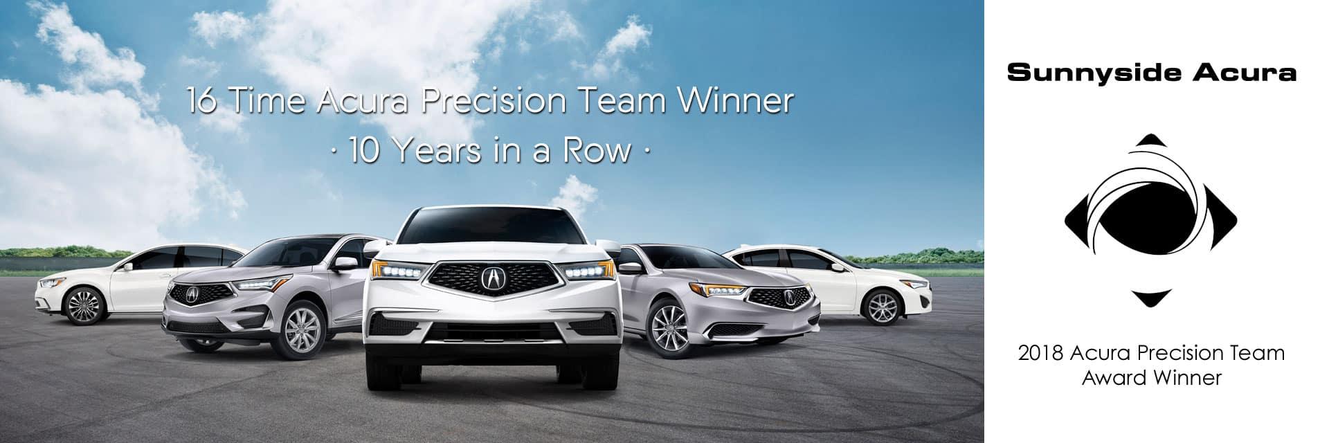 2018 Acura Precision Team Sunnyside Acura