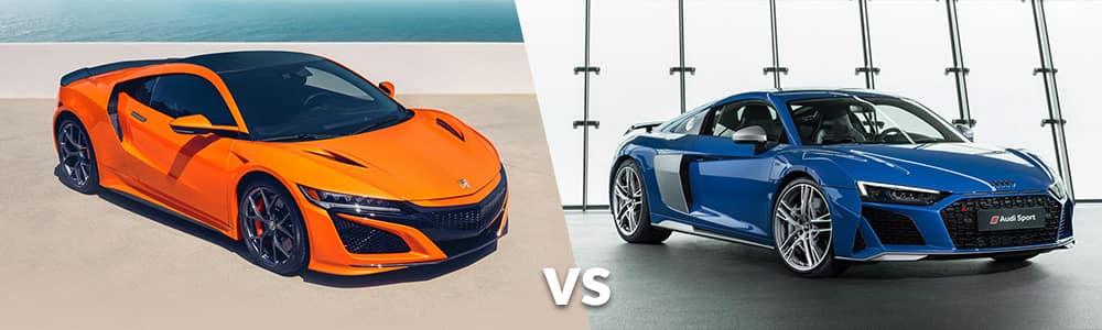 2019 Acura NSX vs. 2019 Audi R8