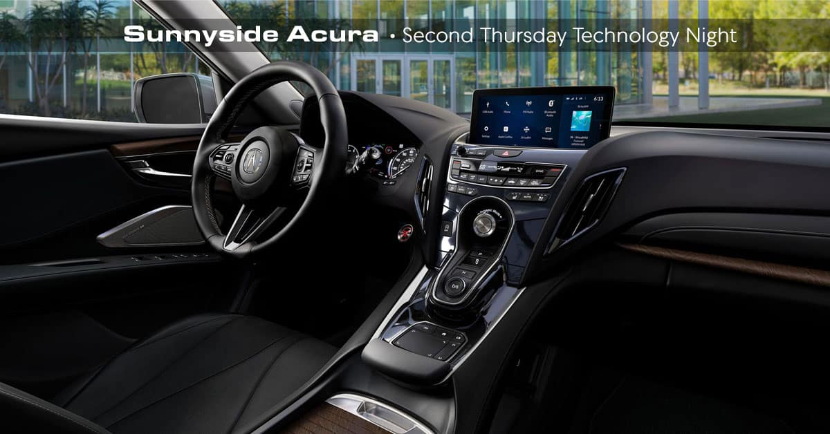 Acura Technology Night - Sunnyside Acura Nashua NH 03063