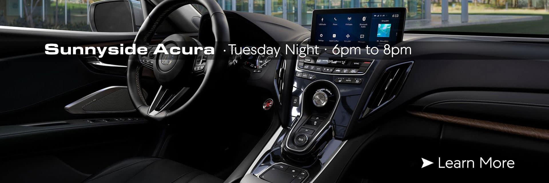 Sunnyside Acura Technology Night Nashua NH