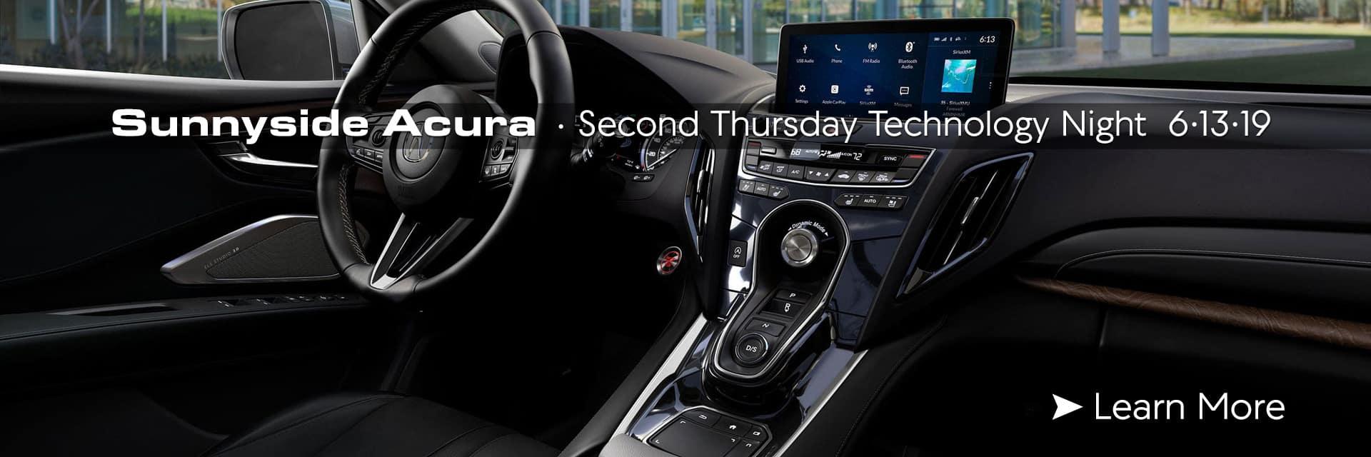 Acura Technology Night - Sunnyside Acura Nashua NH 03063
