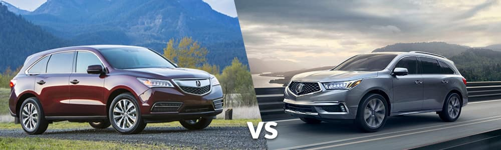 Used 2014 Acura MDX vs. 2019 Acura MDX
