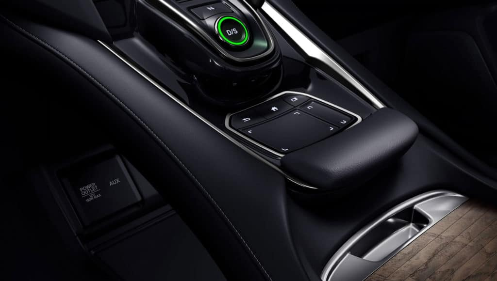 2020 Acura RDX touch pad