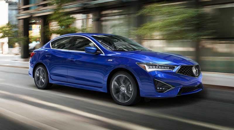 2019 Acura ILX blue