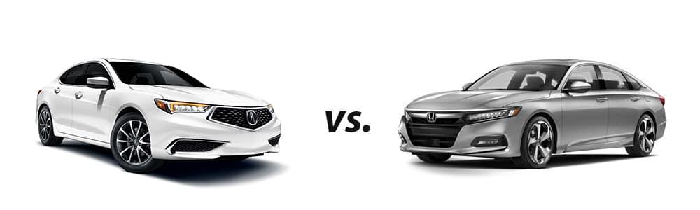 2019 Acura TLX vs  2018 Honda Accord Touring