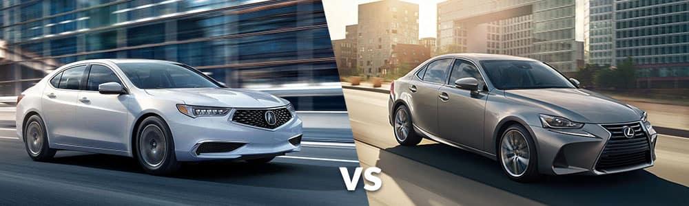 2019 Acura TLX vs. 2019 Lexus IS