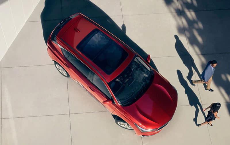 2020 Acura RDX roof