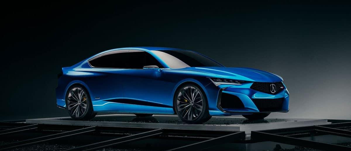 New Acura Type S Concept Premiere
