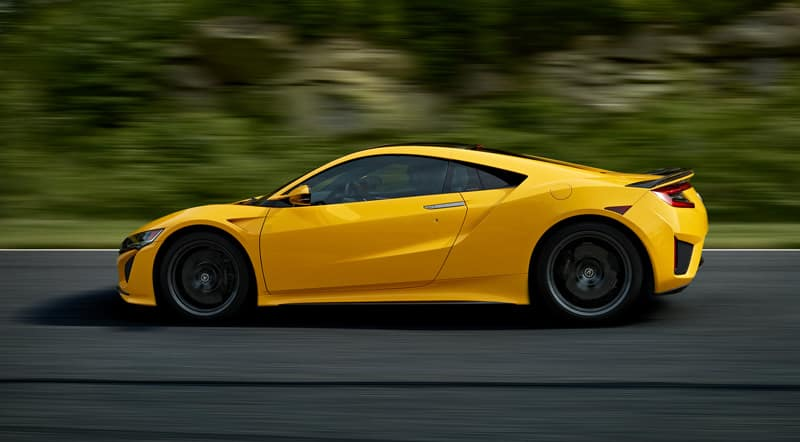 2020 Acura NSX side