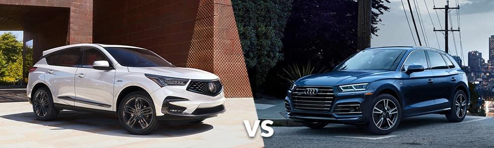 2020 RDX vs. 2020 Audi Q5