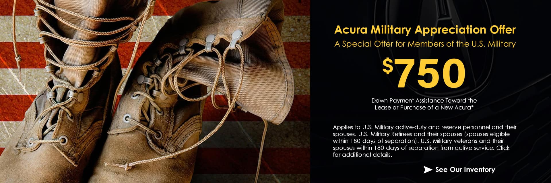 Acura Military Appreciation Offer Sunnyside Acura Nashua NH 03063