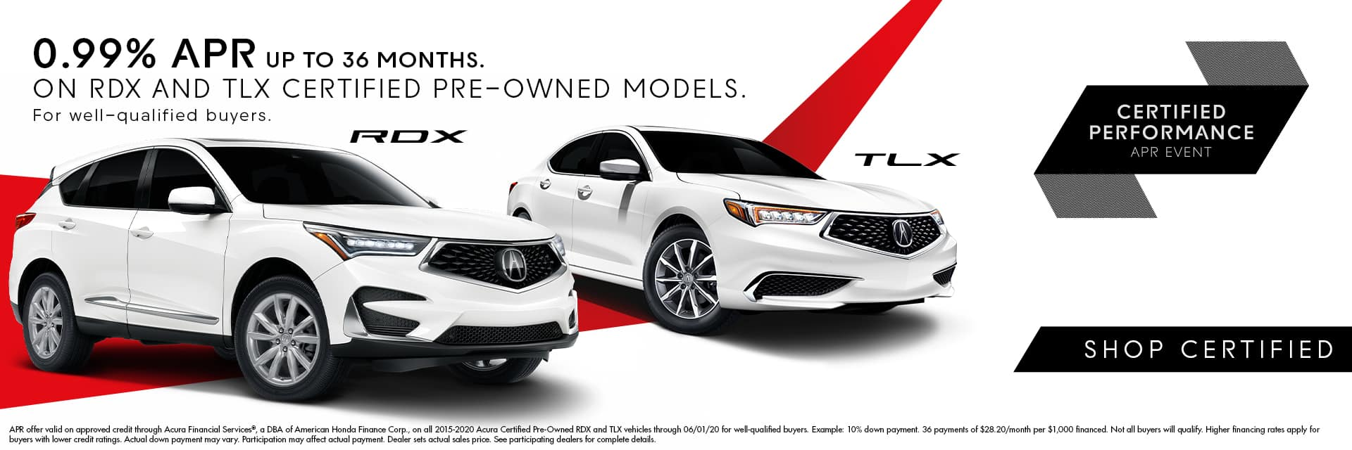 Acura Certified Pre-Owned APR Offer - Sunnyside Acura Nashua NH 03063