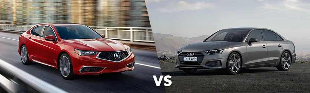 2020 Acura TLX vs. 2020 Audi A4