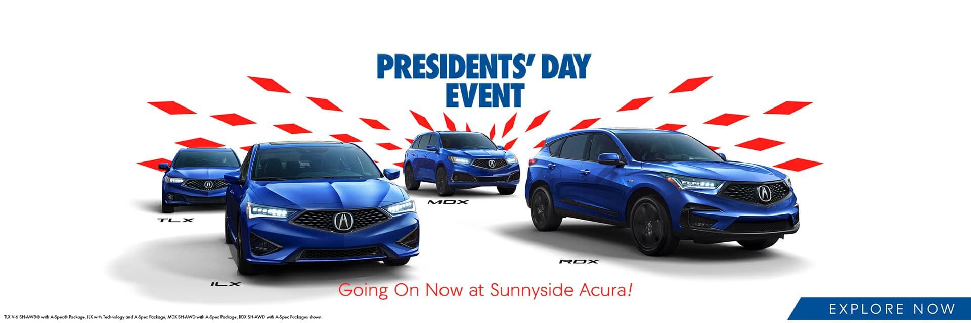 Acura Presidents' Day Event Sunnyside Acura Nashua, NH 03063