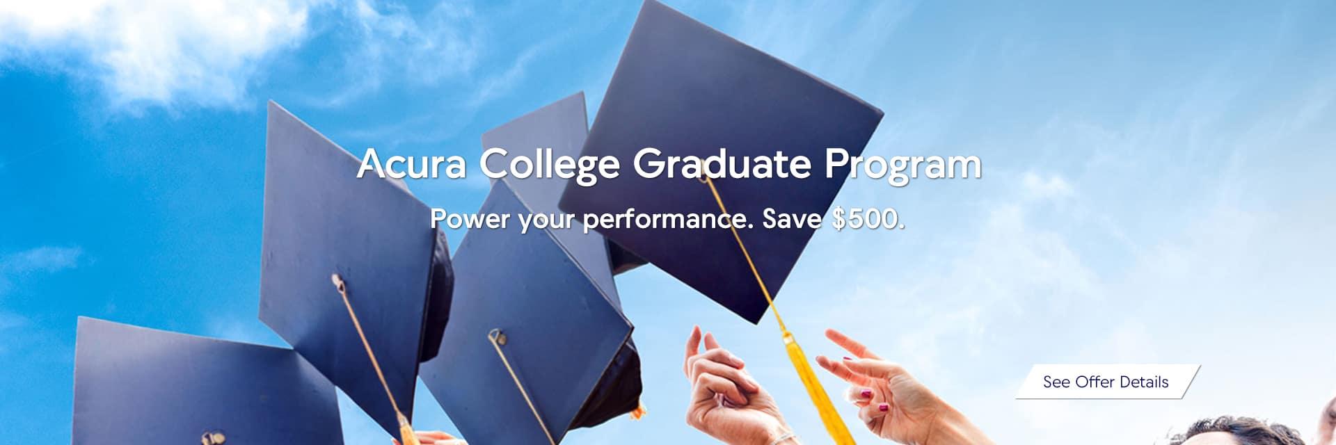 Acura College Graduate Program Sunnyside Acura Nashua, NH 03063