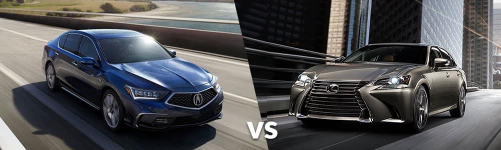 2020 Acura RLX vs. 2020 Lexus GS