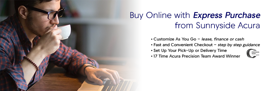 Buy Online with Express Purchase from Sunnyside Acura Nashua NH 03063