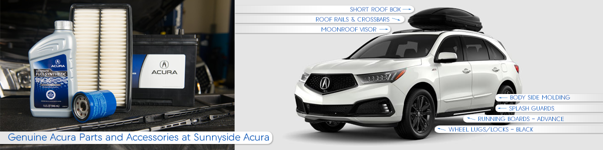 Genuine Acura Parts and Accessories at Sunnyside Acura in Nashua NH 03063