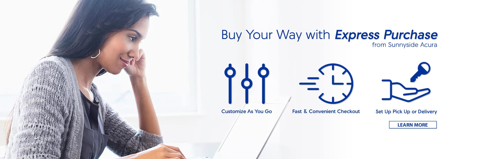 Buy Your Way with Express Purchase from Sunnyside Acura Nashua NH 03063
