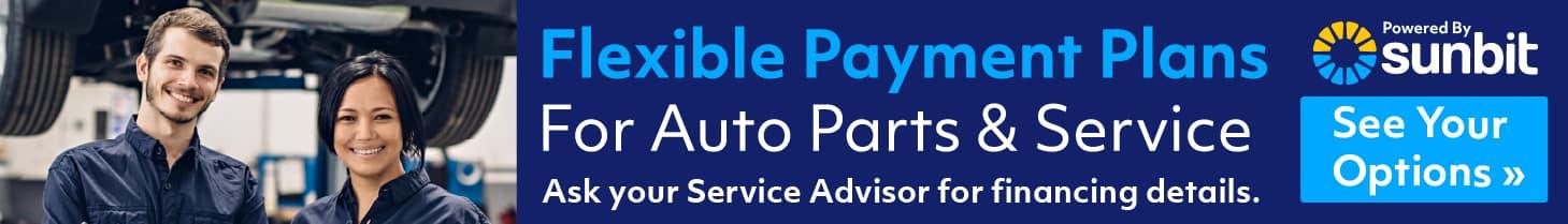 Finance your parts and service at Sunnyside Acura Nashua NH 03063