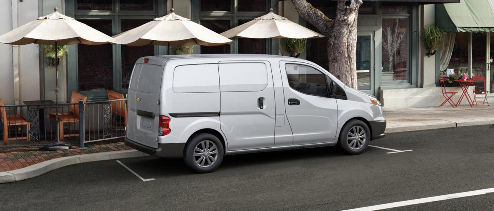 2015 Chevrolet City Express side view