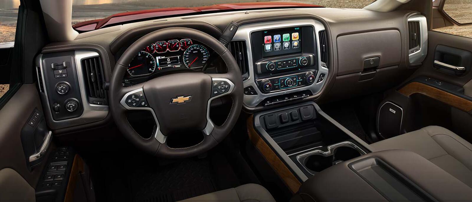 2015 Chevrolet Silverado 2500 interior