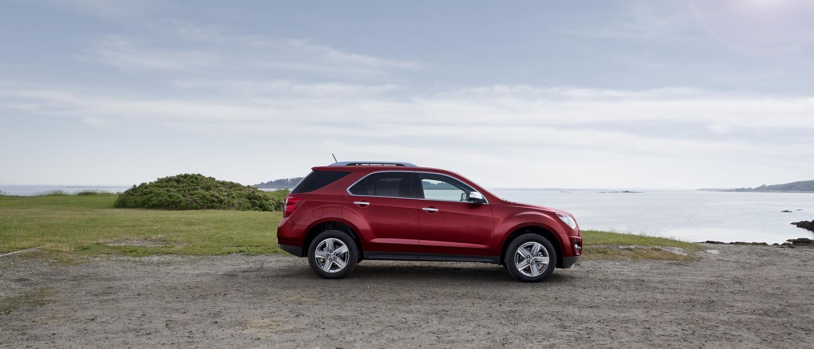 2015 Chevrolet Equinox profile