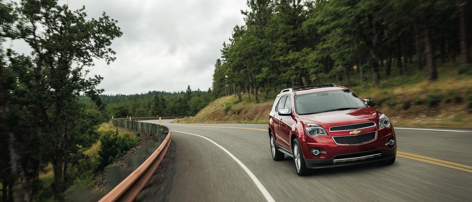 2015 Chevrolet Equinox on roadway