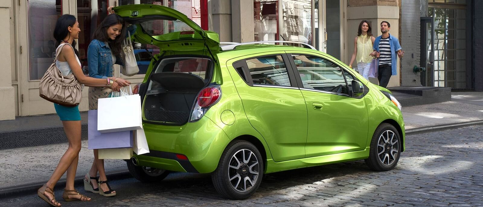 2015 Chevrolet Spark rear view