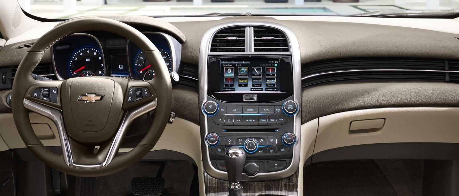 2015 Chevrolet Malibu interior