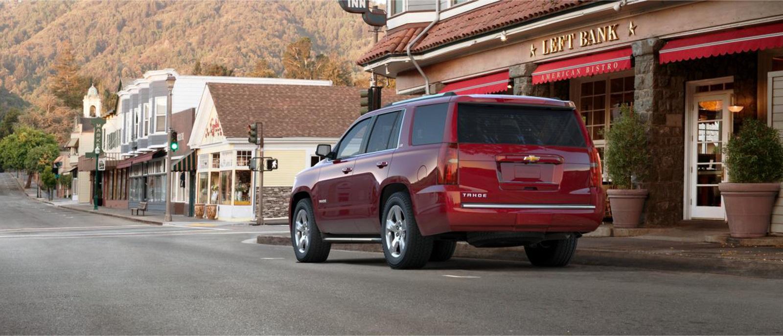 2015 Chevrolet Tahoe Rear Exterior
