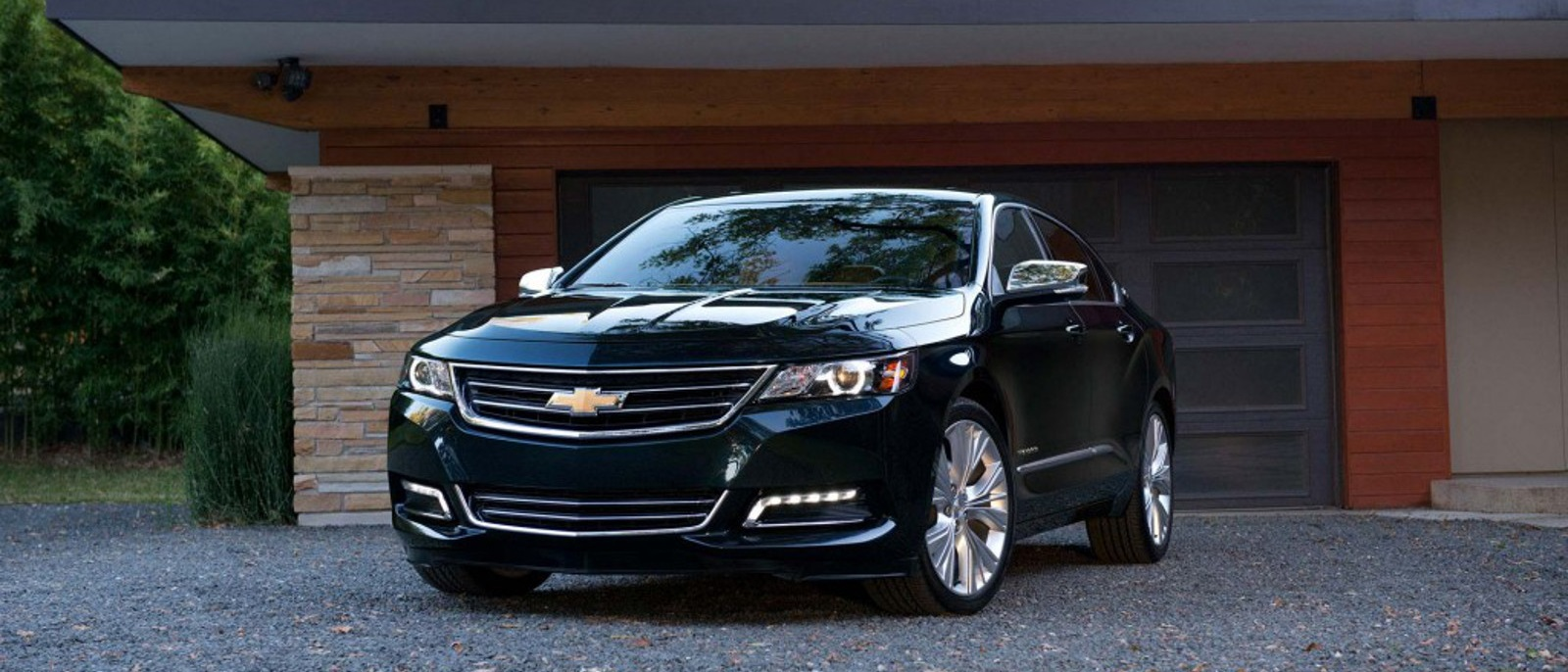 2015 Chevrolet Impala in black