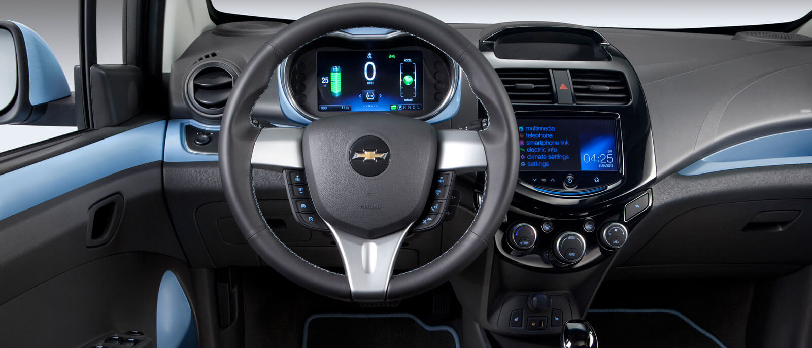 2015 Chevrolet Spark EV interior