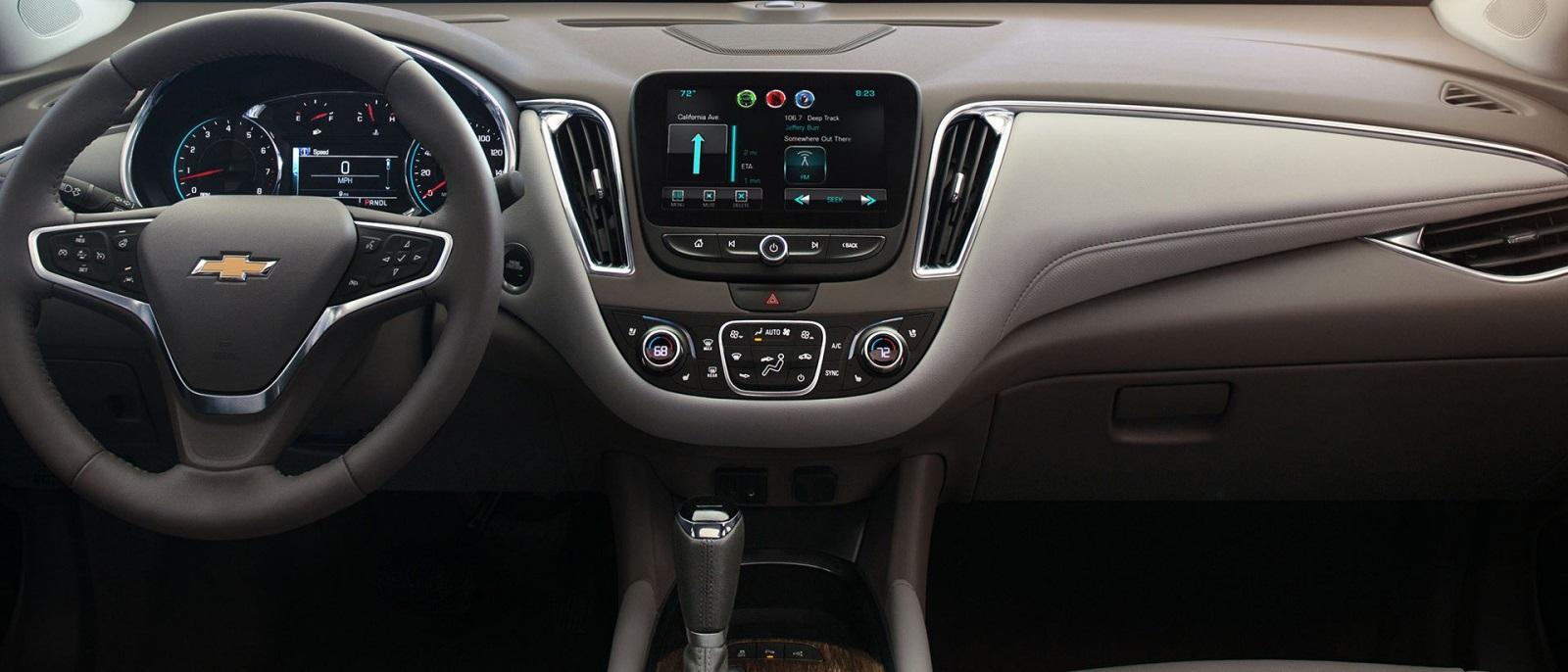 2016 Chevy Malibu Hybrid Interior front dashboard view