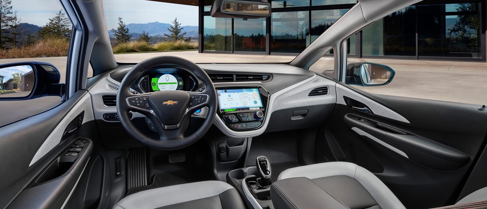 2017 Chevrolet Bolt EV front interior