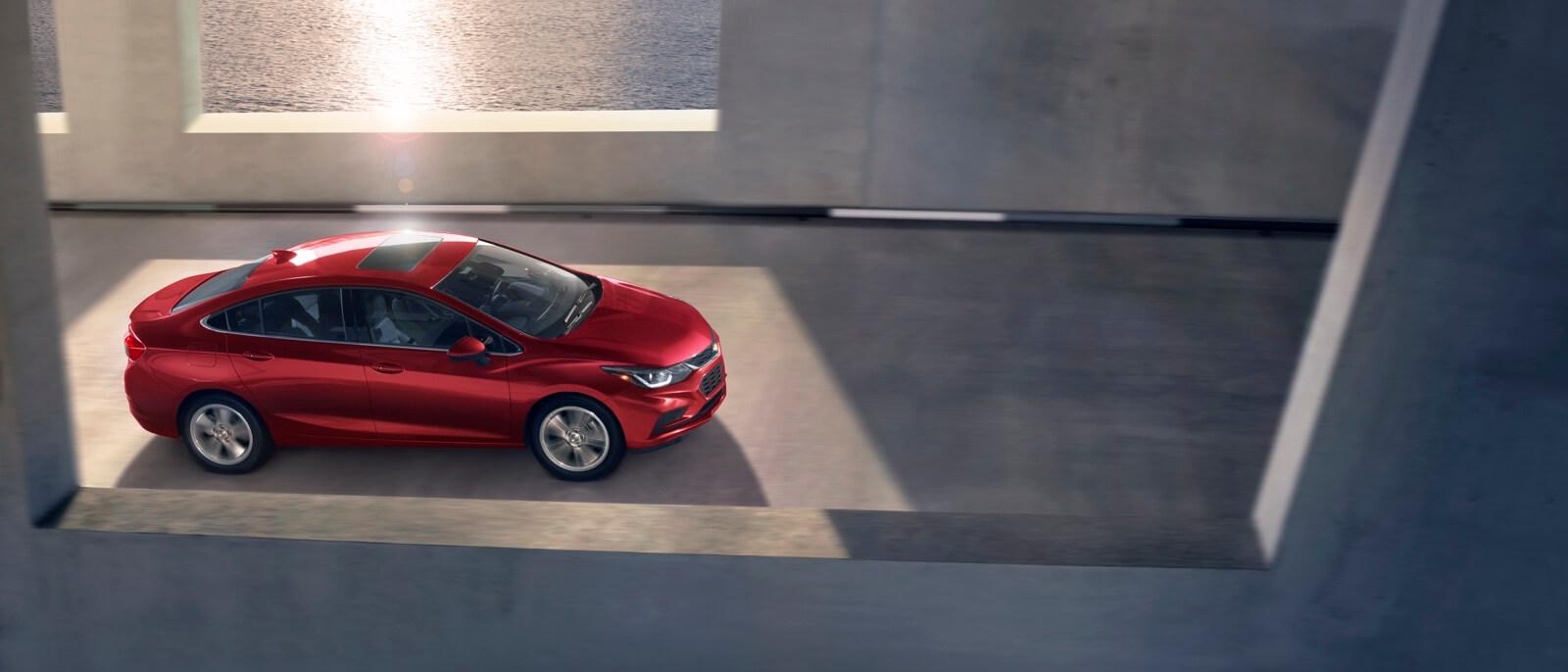 2017 Chevrolet Cruze Sedan red exterior