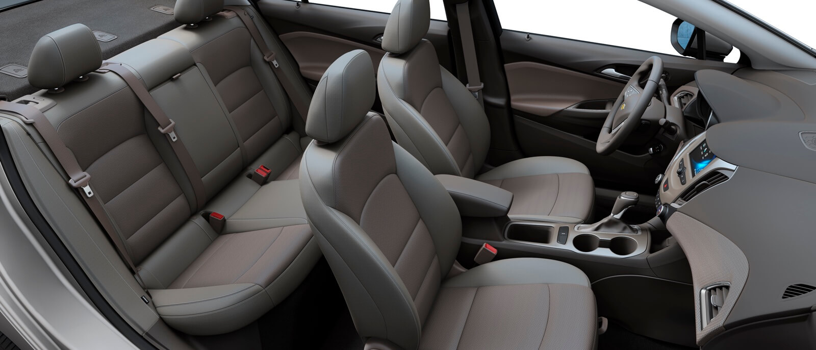 Attractive 2017 Chevrolet Cruze Sedan Interior Seating ...