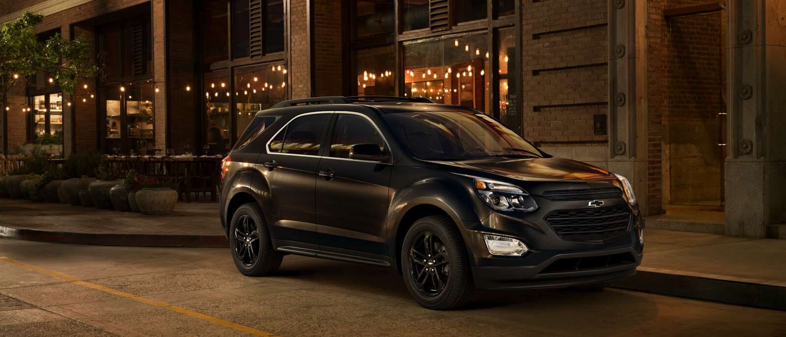 2017 Chevrolet Equinox dark exterior