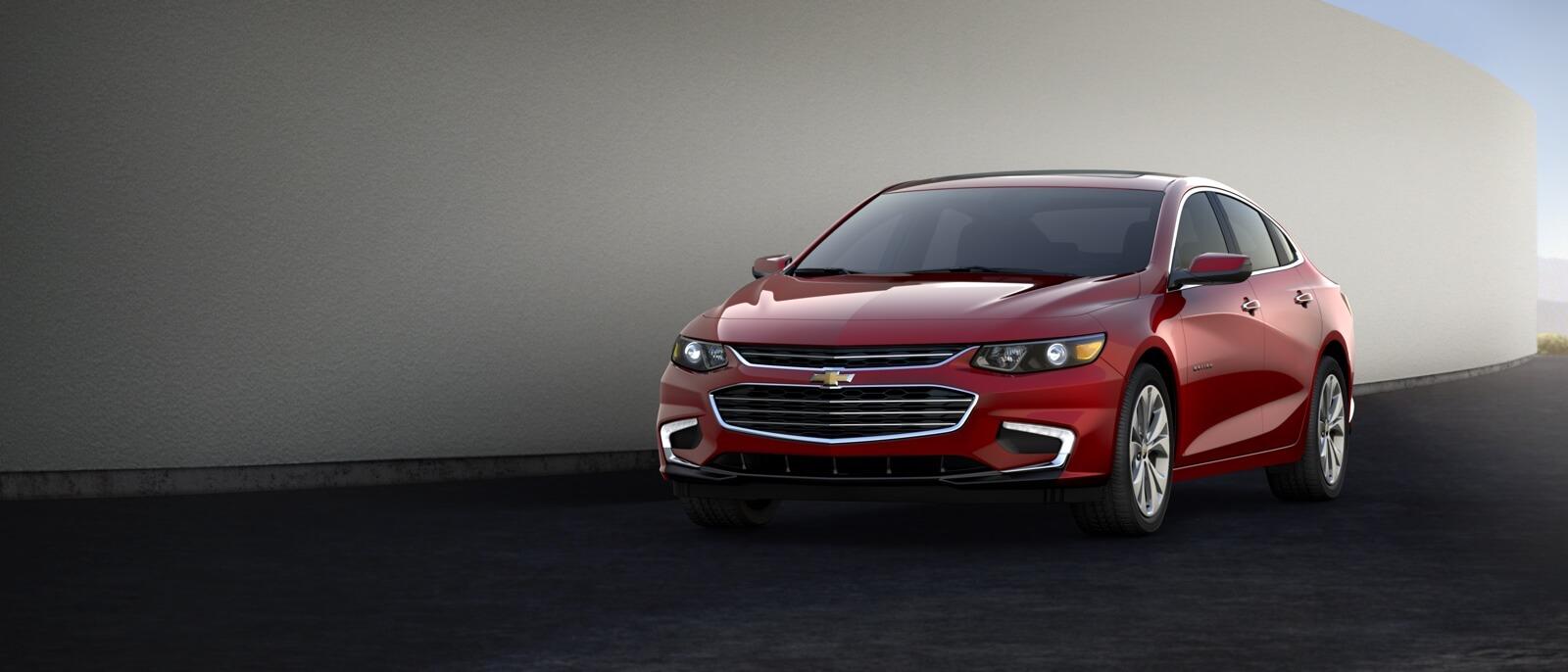 2017 Chevrolet Malibu red exterior model