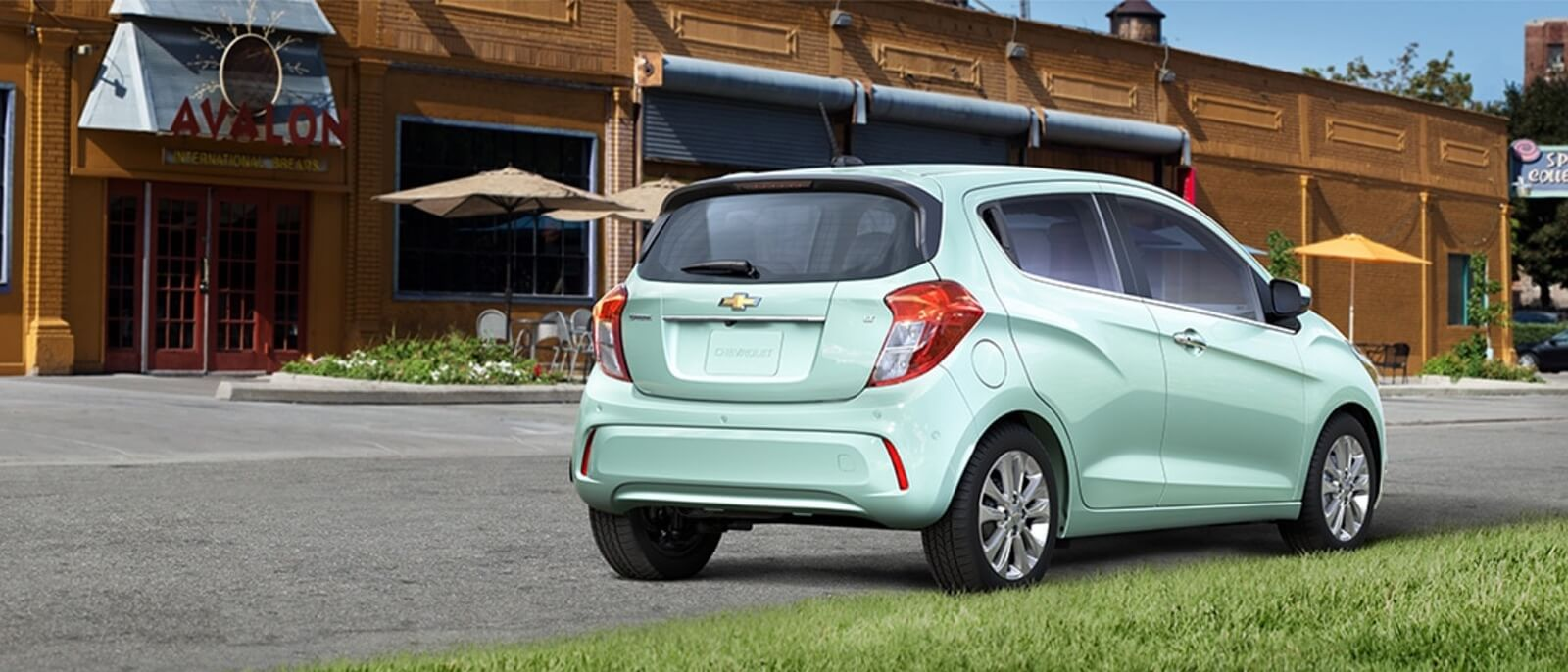 2017 Chevrolet Spark rear view