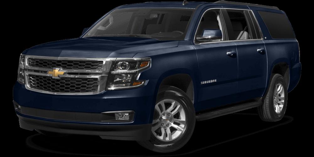2017 Chevrolet Suburban dark exterior