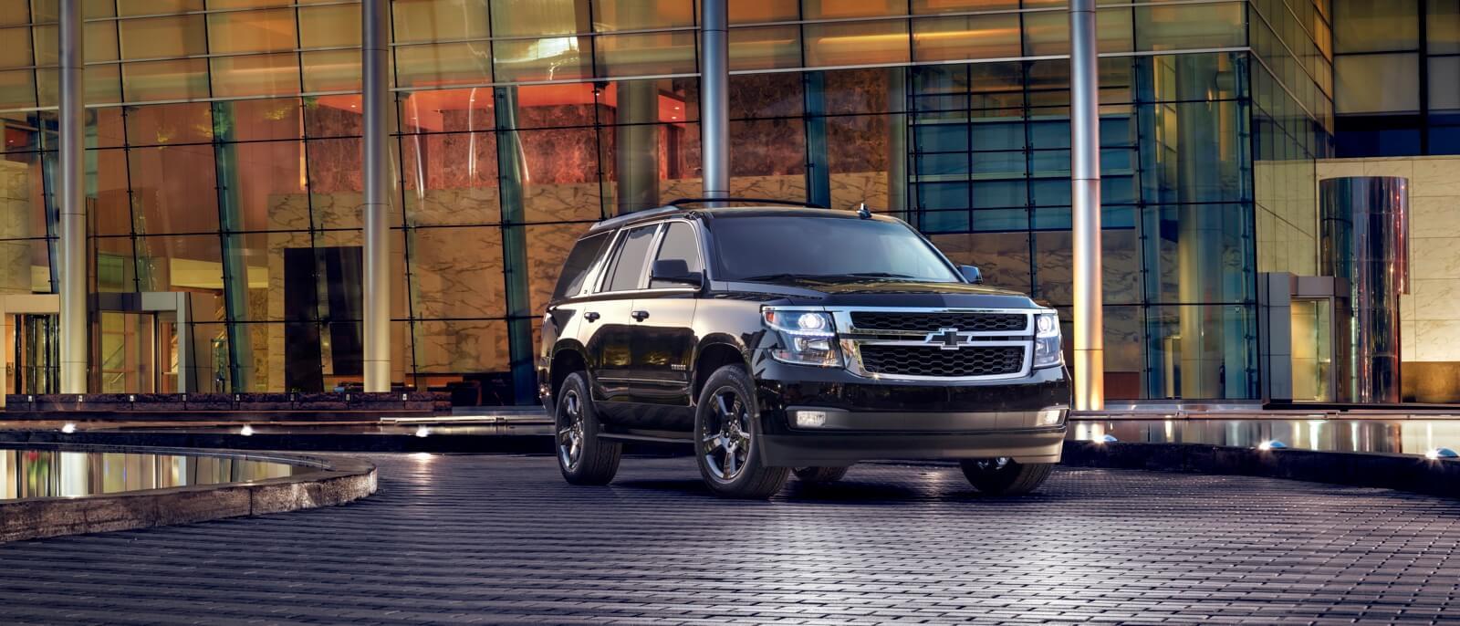 2017 Chevrolet Tahoe dark exterior