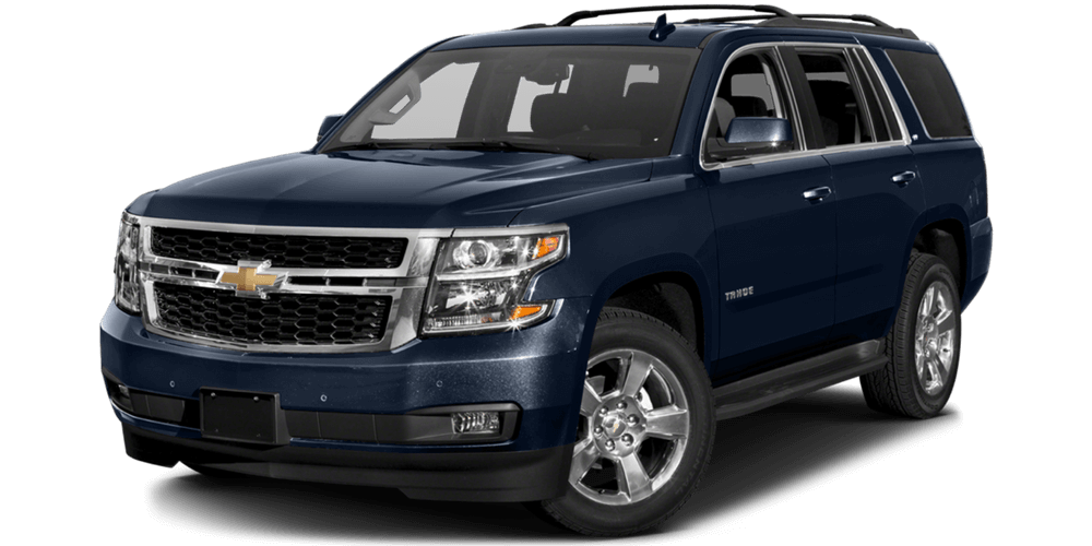 2017 Chevrolet Tahoe blue exterior model