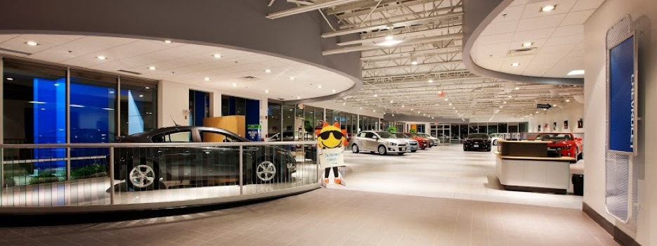 Sunrise Chevrolet Showroom