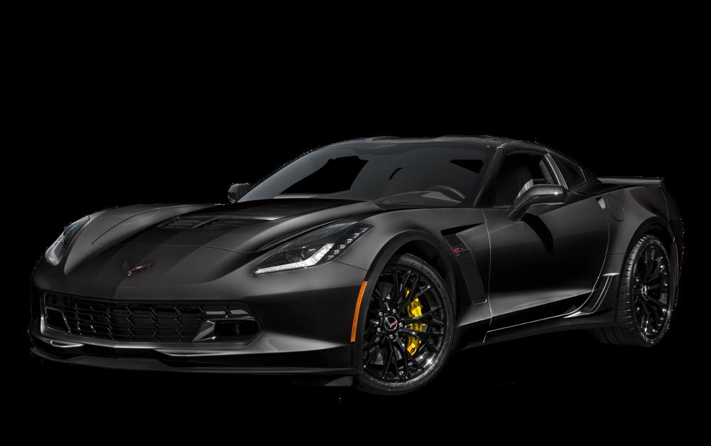 2016 Chevrolet Corvette Z06 black exterior