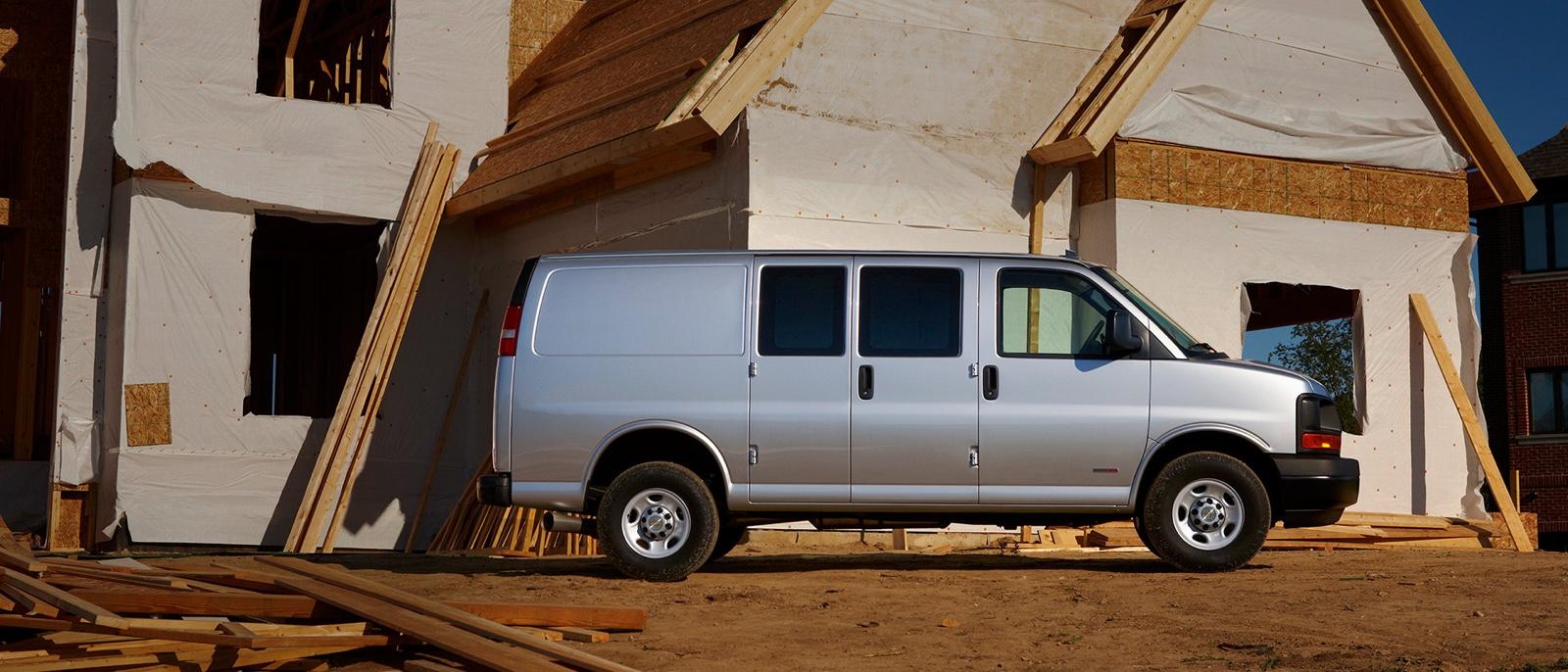 2016 Chevrolet Express Cargo white exterior