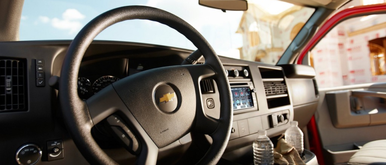 2016 Chevrolet Express Cargo interior