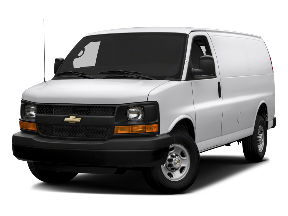 2016 Chevrolet Express Cargo Van white exterior